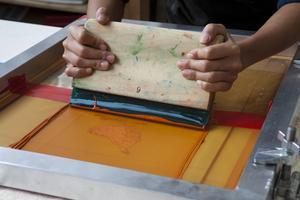 PRIVATE: Silkscreen and Fabric printing workshop