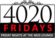 4020 Fridays {every Friday Night at the 4020 Lounge} logo