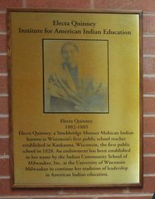 Electa Quinney Institute at UWM logo