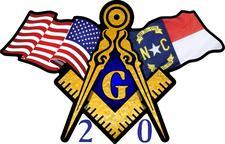 N.C. 20th Masonic District Masons logo