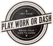 Play, Work or Dash, LLC logo