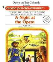 Opera on Tap at Deer Pile - Choose Your Own Opera...
