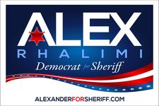 Suffolk County Sheriff Candidate Alex Rhalimi  logo