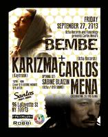 BEMBE Party returns to NYC with Karizma and Carlos Mena