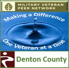 MVPN - Denton County, Ginger Simonson - Veteran Volunteer Peer Service Coordinator logo