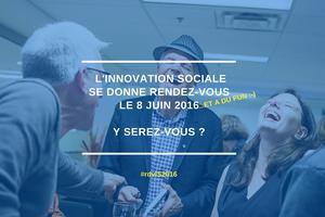 Le Rendez-vous de l'innovation sociale 2016