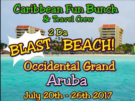 """""""BLAST"""" 2 DA BEACH 2017-ARUBA"""