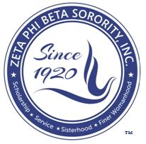 Zeta Phi Beta Sorority, Inc., Gamma Zeta Zeta Chapter and Sigma Iota Zeta Chapter logo