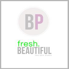 BlushPretty || fresh.beautiful logo