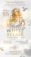 Saturday Aug 31: Sultry White Affair