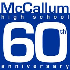 McCallum High 60th Anniversary Events logo