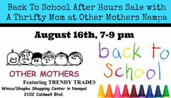 Back To School After Hours Sale with A Thrifty Mom at O...