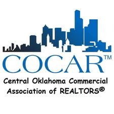 Central Oklahoma Commercial Association of REALTORS®  (COCAR™) logo