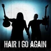 Hair I Go Again logo