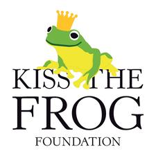 Kiss the Frog Foundation logo