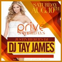 DJ Tay James at PRIVE