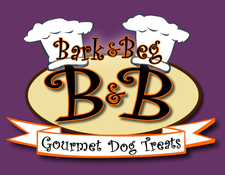 Bark & Beg Gourmet Dog Treats logo