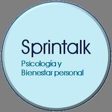 Sprintalk, despacho de psicología y bienestar personal logo
