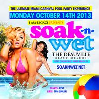INFO:  SOAK N WET 2013 THE ULTIMATE MIAMI CARNIVAL...