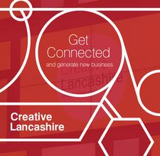 Creative Lancashire in association with Soap Media & Cotton Court logo