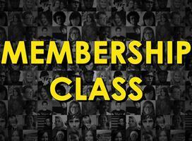 Membership Class - September 2013