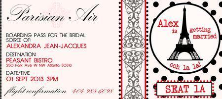 Alex's Bridal Soiree