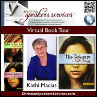 CSS Virtual Book Tour - THE DELIVERER by Kathi Macias