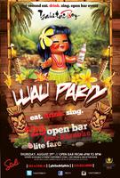 Eat Drink Sing Happy Hour Luau Party