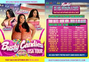 BUSTY CANDIES USA TOUR