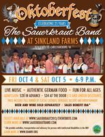 Oktoberfest with the Sauerkraut Band at Sinkland Farms...