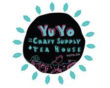Yu Yo Craft Supply + Tea House logo