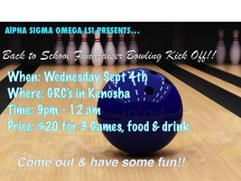 Back To School Bowling Kick Off!!