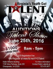 Robin Lalande of Virginia's Youth Got Talent  logo