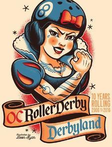 OC Roller Derby logo