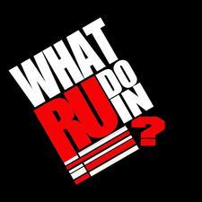 WHATRUDOIN ENTERTAINMENT  logo