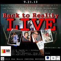 BACK to REALITY - LIVE!!