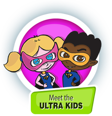 UltraKids Club  logo
