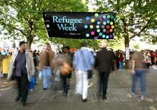 Refugee Week: Blackburn with Darwen logo