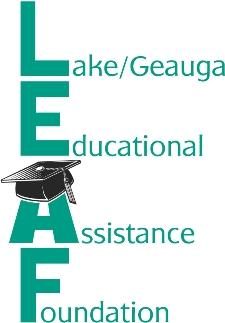 Lake/Geauga Educational Assistance Foundation logo