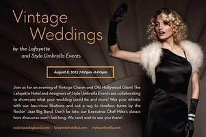 VINTAGE WEDDINGS - TONIGHT!!!