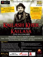 Saturday, May 12 KAILASH KHER with his band KAILASA -...