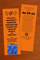 Phillip and Marjorie's Marriage Preparation Course...