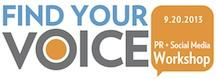 Find Your Voice: Public Relations + Social Media...