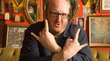 Brian Posehn at the door