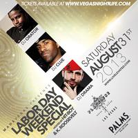 Labor Day Weekend Special at Playhouse Las Vegas inside...