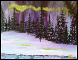 Fundraiser for Howard Dental Center Sip N' Paint Borealis...