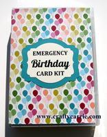 Emergency Card Kit Class!