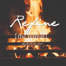 Refine {the retreat} logo