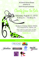 "40 Girls and Some Shoes  6TH Annual ""CHARITY FROM THE..."