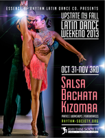 UPSTATE NY FALL LATIN DANCE WEEKEND | OCT 31- NOV 3RD...